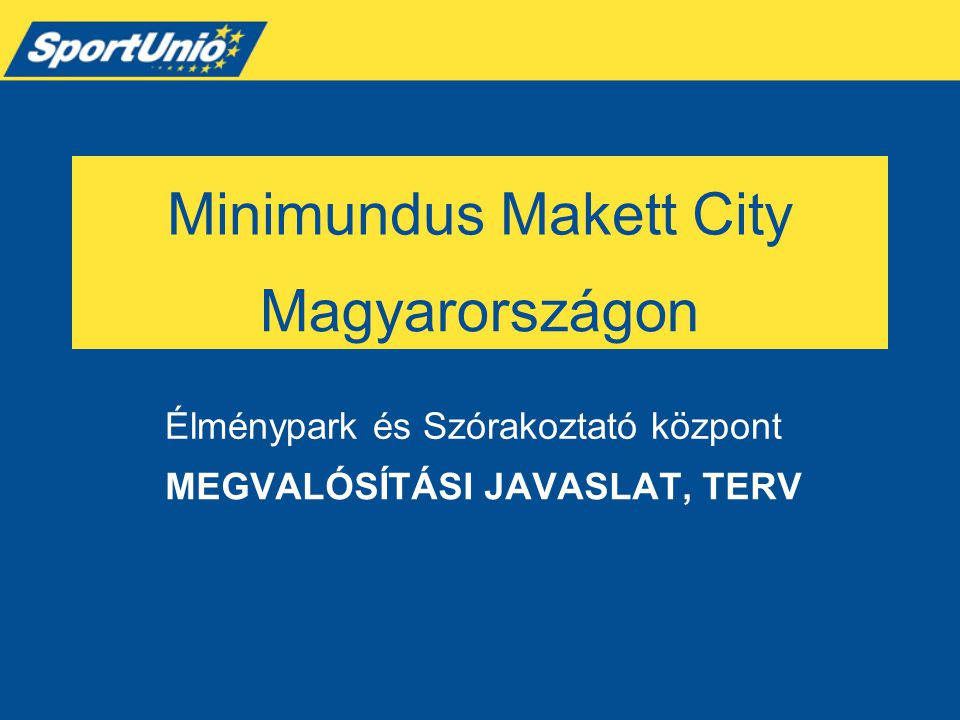 Minimundus Makett City