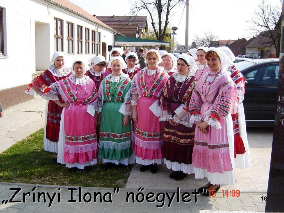 """""""Zrínyi Ilona nőegylet"""