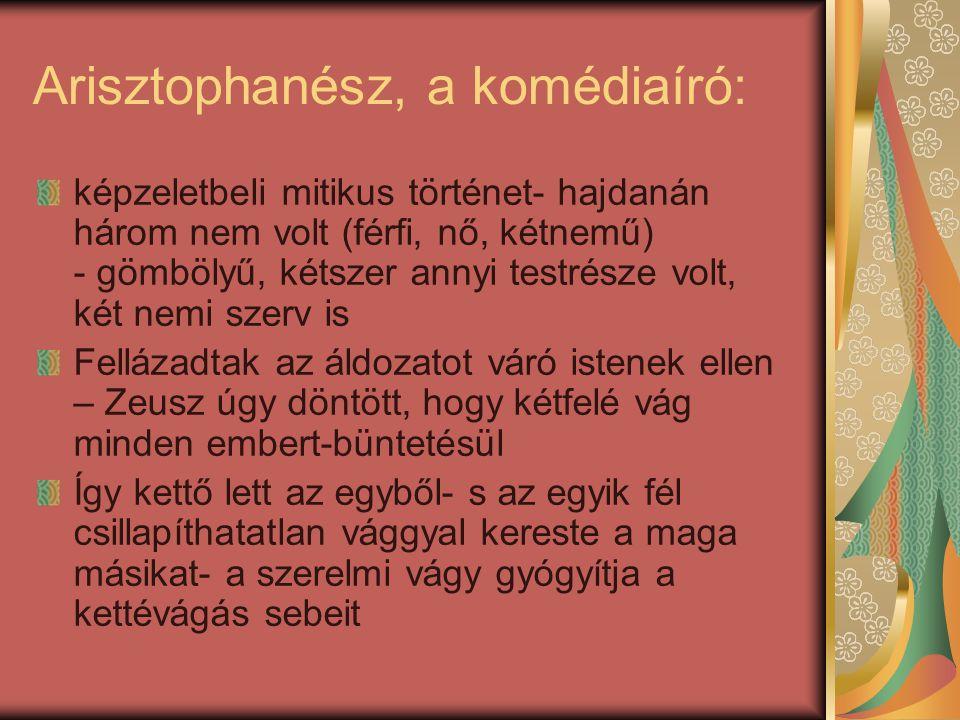 Arisztophanész, a komédiaíró: