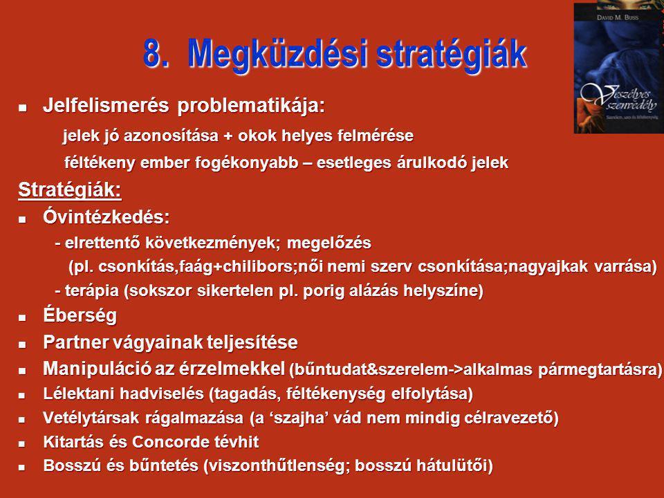 8. Megküzdési stratégiák