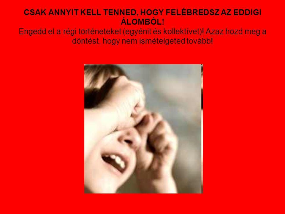 CSAK ANNYIT KELL TENNED, HOGY FELÉBREDSZ AZ EDDIGI ÁLOMBÓL