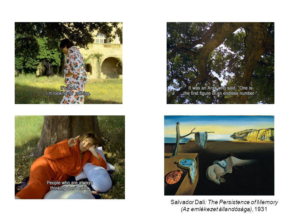 Salvador Dali: The Persistence of Memory (Az emlékezet állandósága), 1931