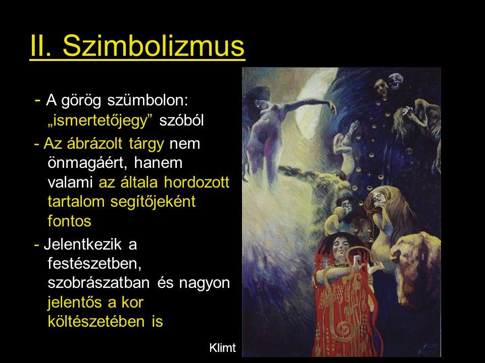 """II. Szimbolizmus - A görög szümbolon: """"ismertetőjegy szóból"""