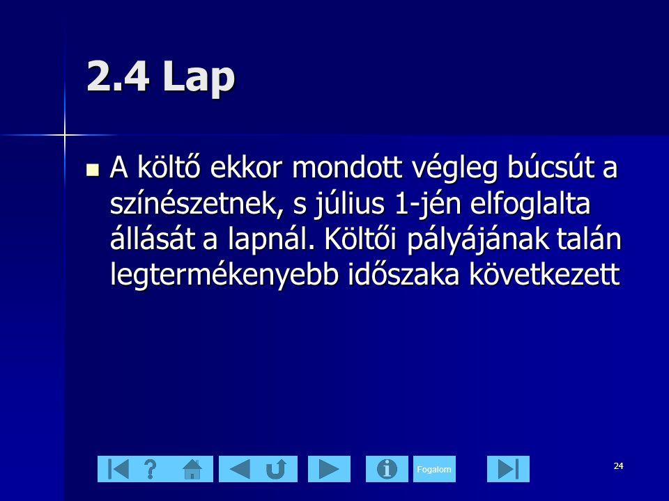 2.4 Lap