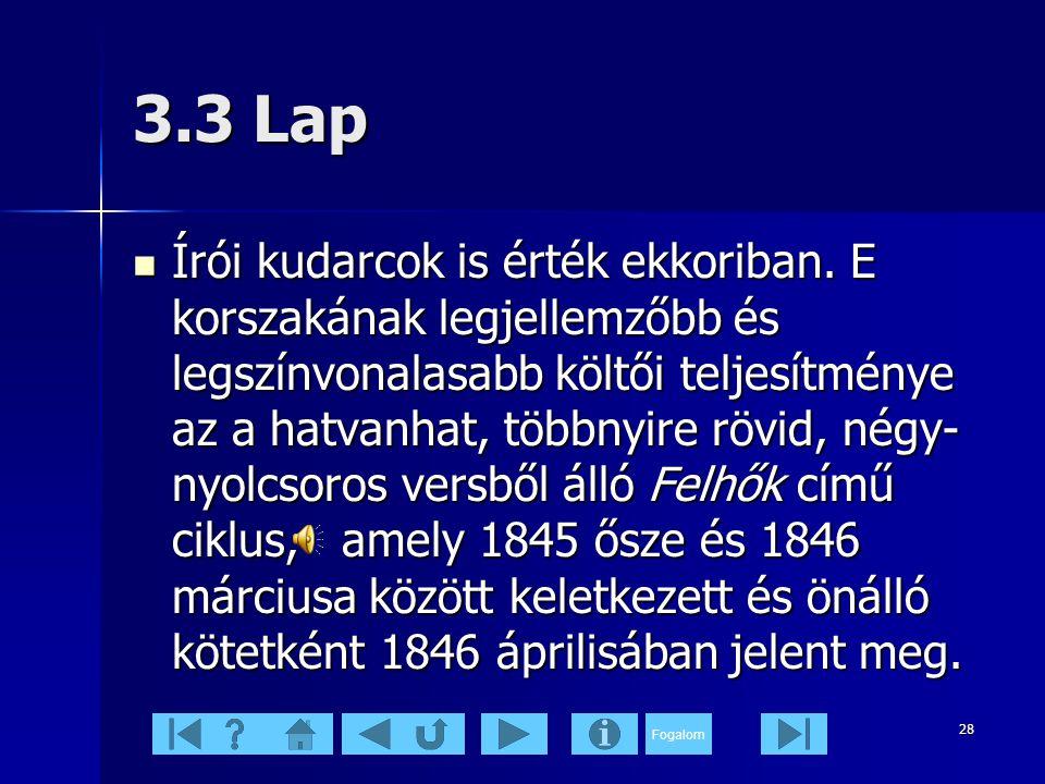 3.3 Lap