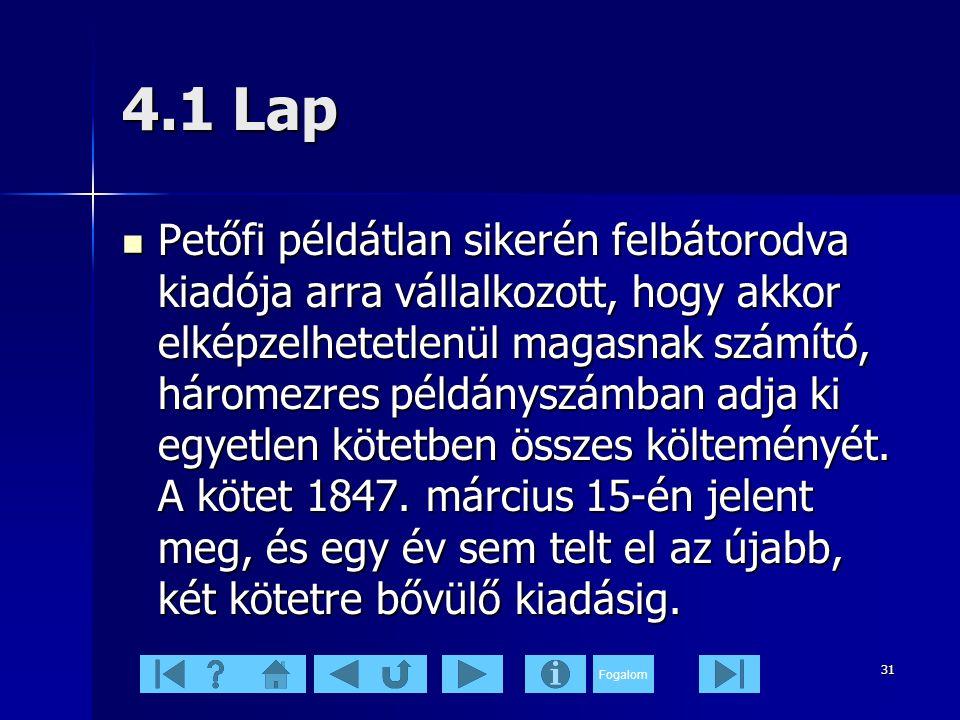 4.1 Lap