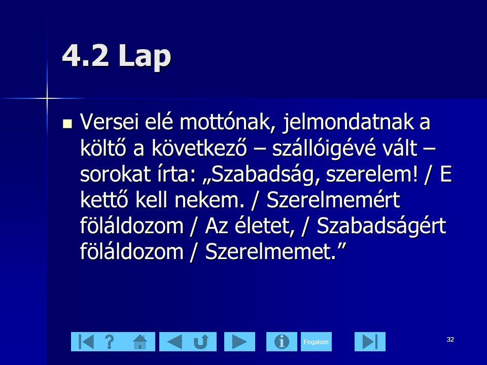 4.2 Lap