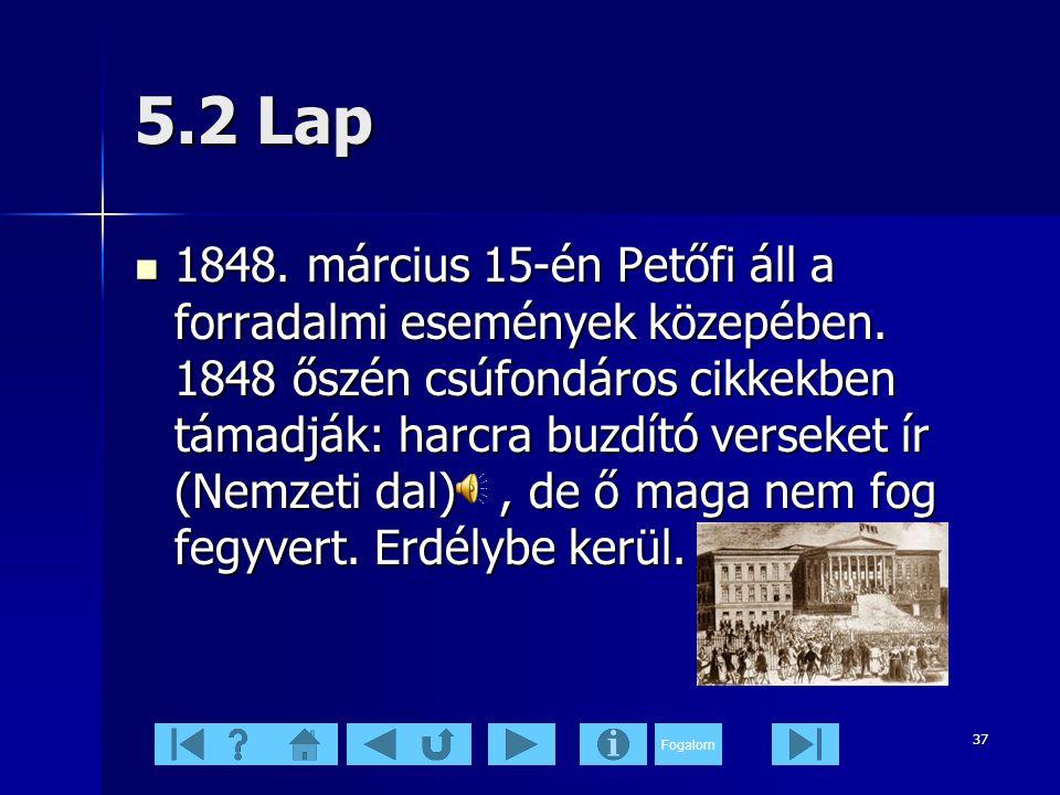 5.2 Lap