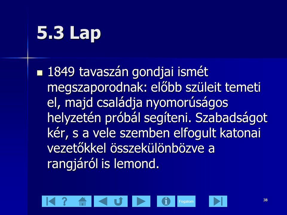 5.3 Lap