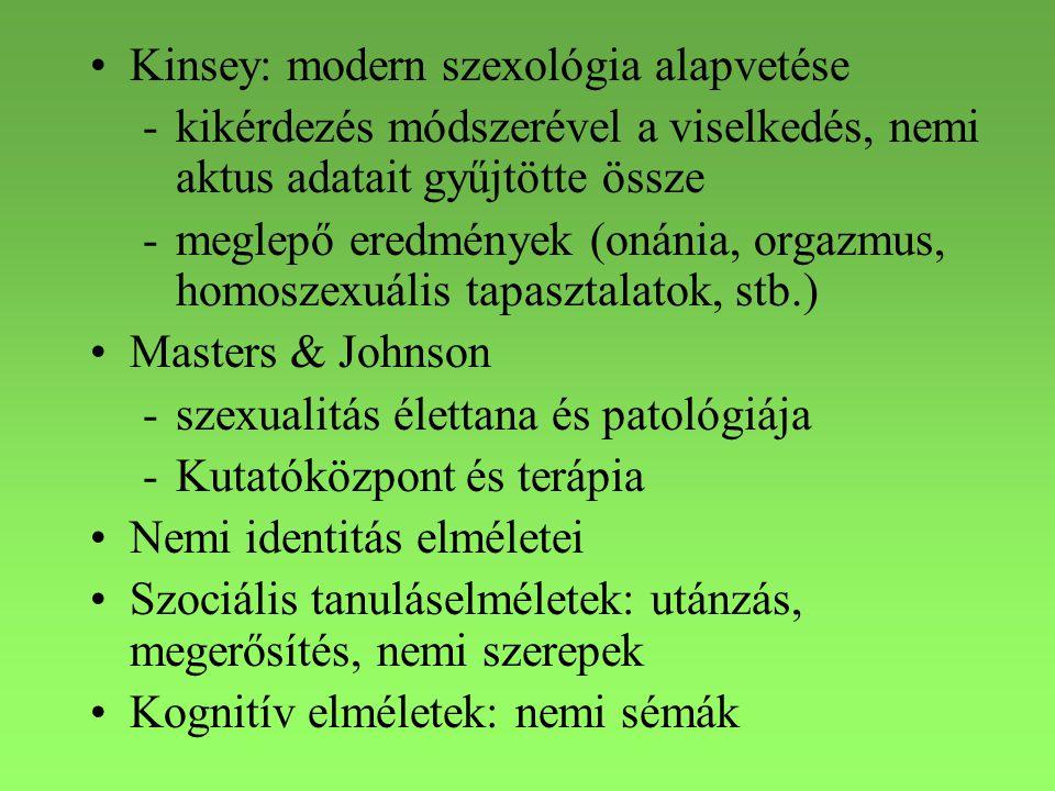 Kinsey: modern szexológia alapvetése