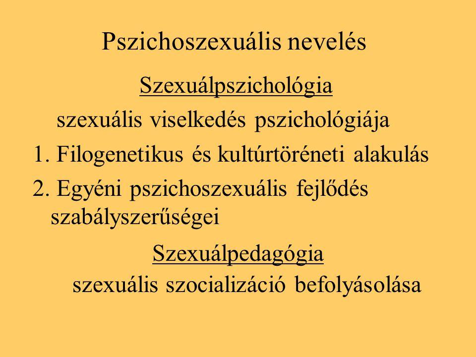 Pszichoszexuális nevelés