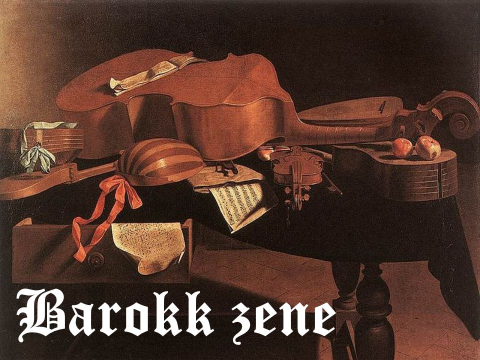 Barokk zene Barokk zene