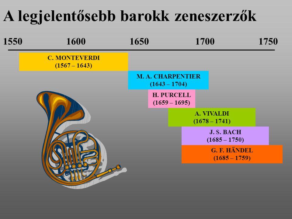 A legjelentősebb barokk zeneszerzők