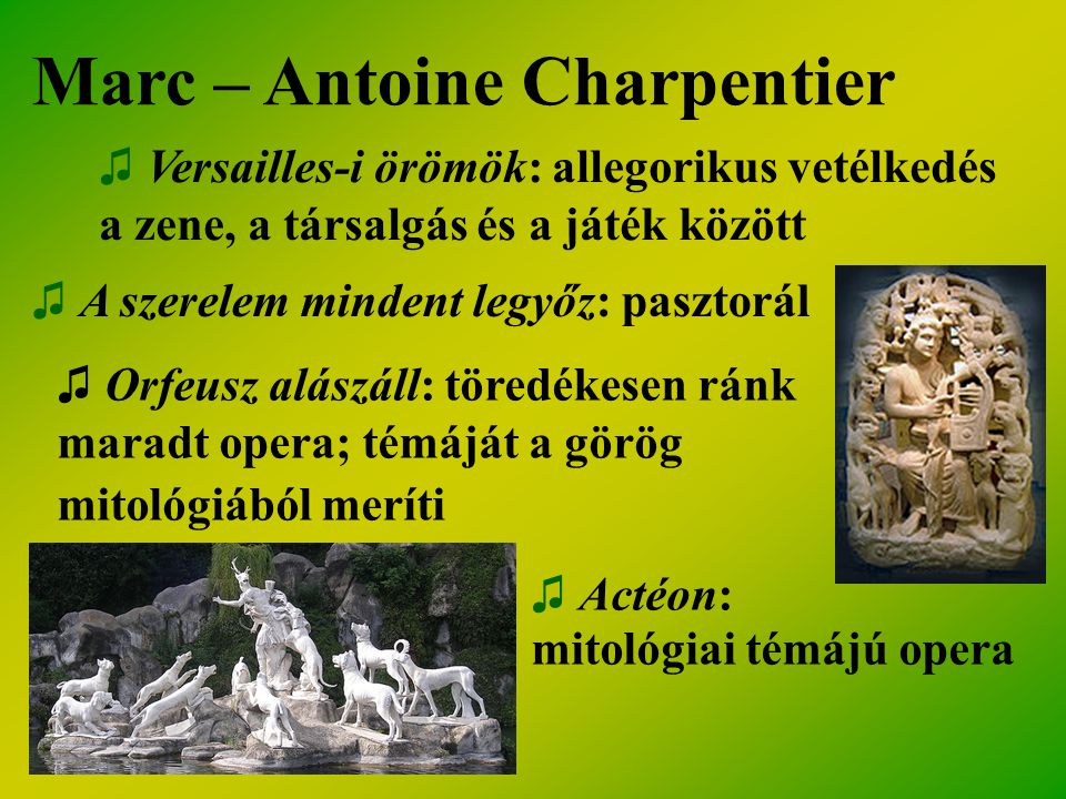 Marc – Antoine Charpentier
