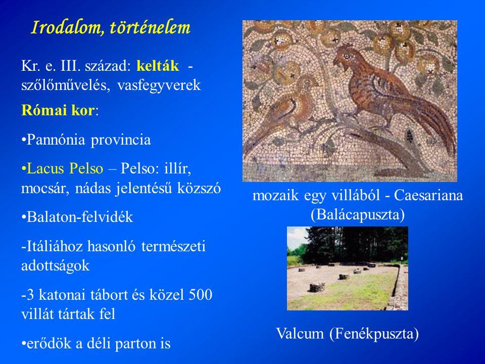 mozaik egy villából - Caesariana (Balácapuszta)