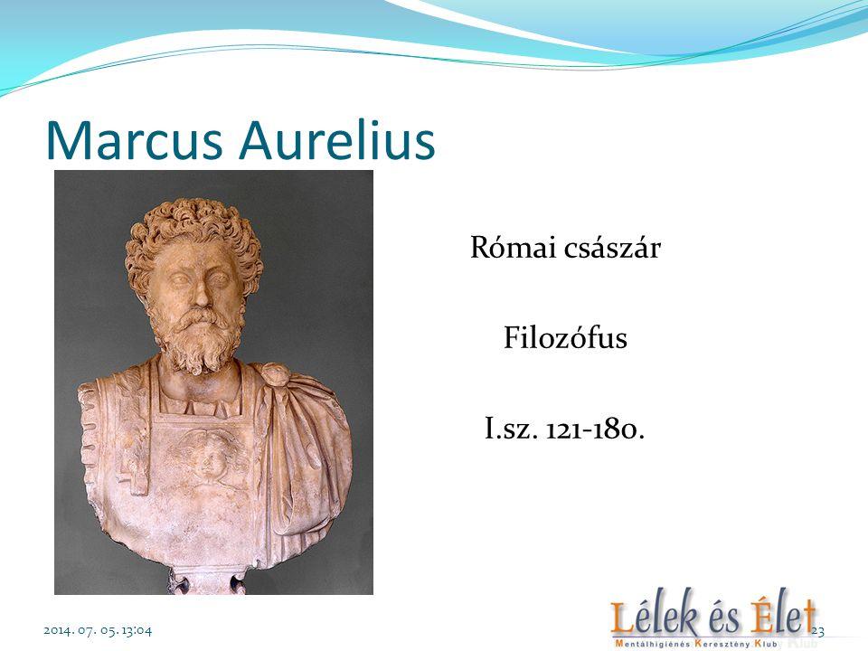 Római császár Filozófus I.sz. 121-180.