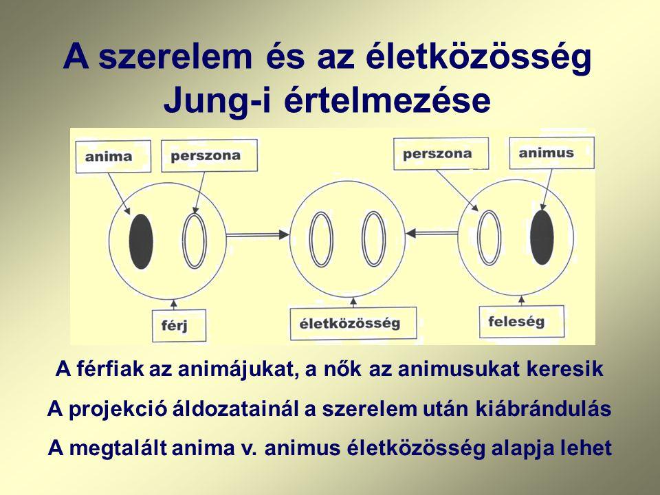 A szerelem és az életközösség Jung-i értelmezése