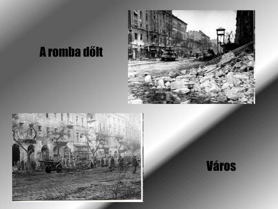 A romba dőlt Város