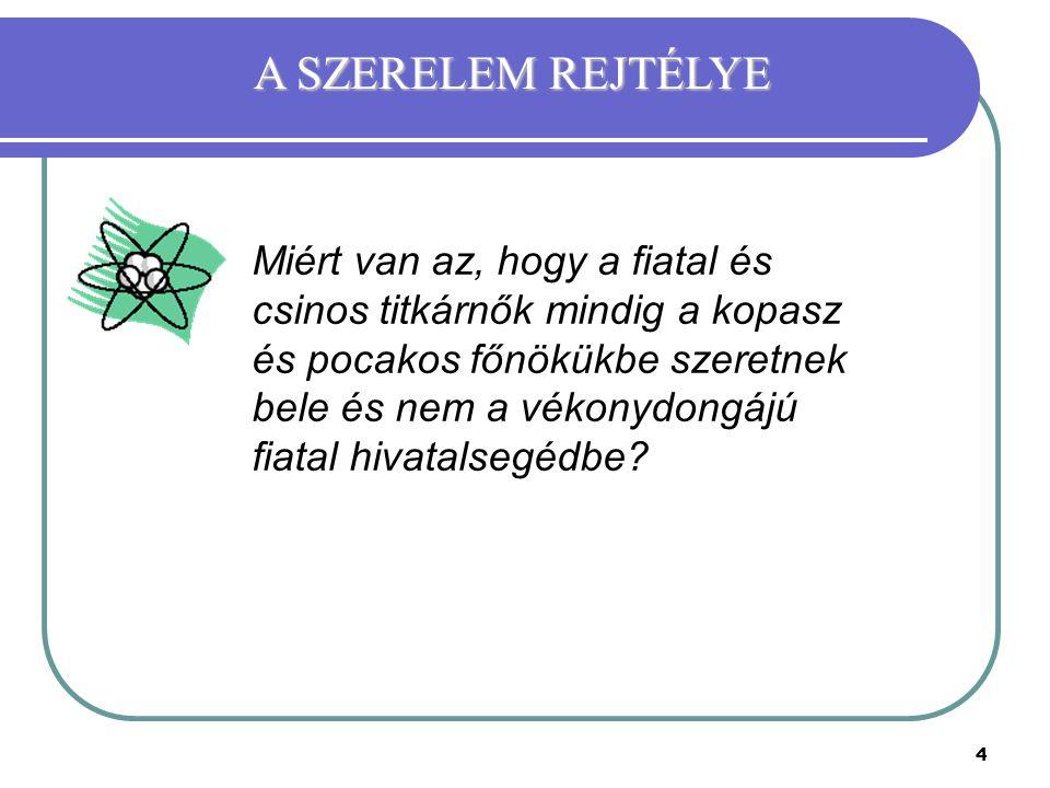 A SZERELEM REJTÉLYE