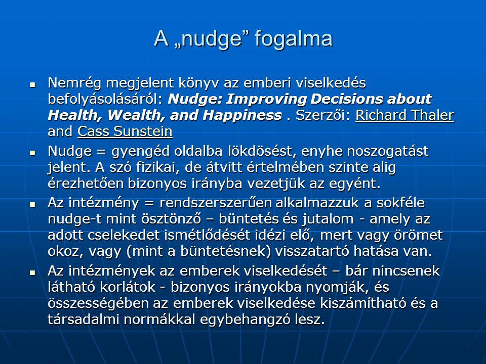 """A """"nudge fogalma"""