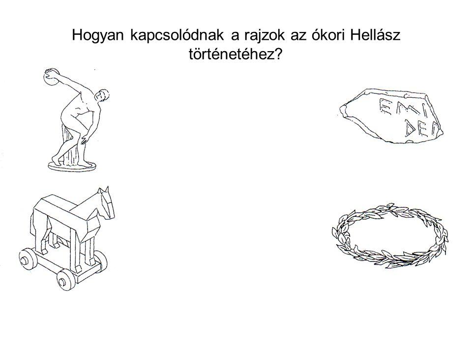 Hogyan kapcsolódnak a rajzok az ókori Hellász történetéhez
