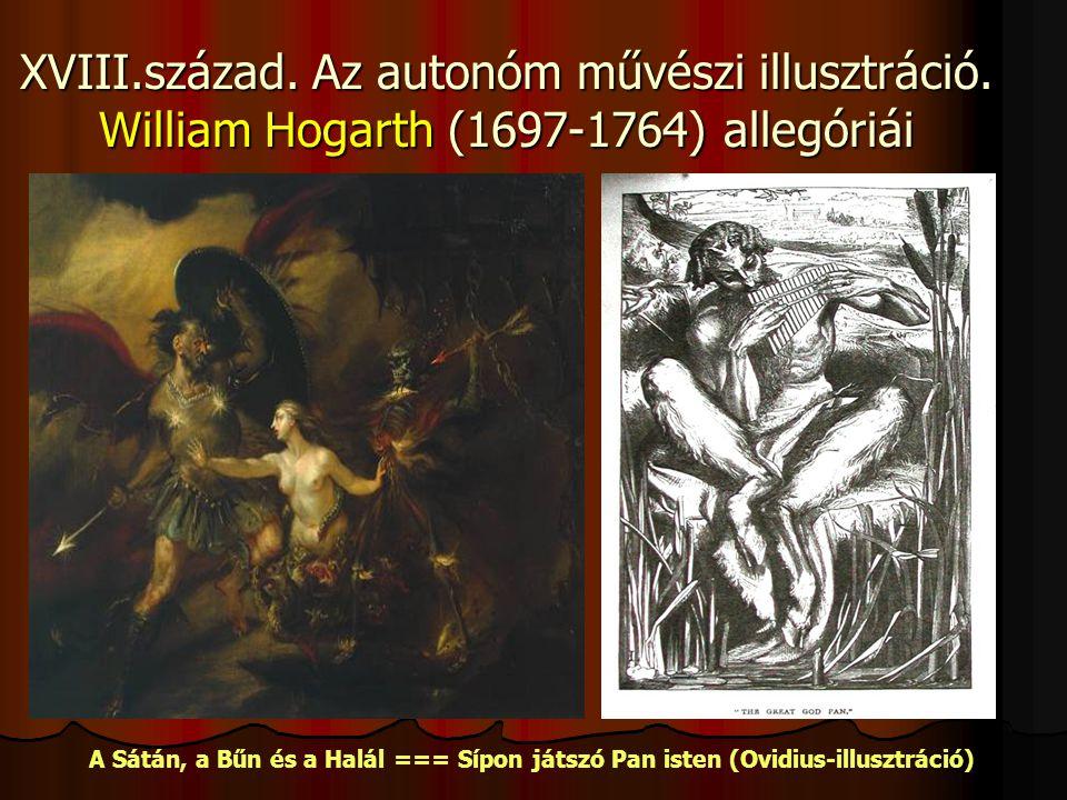 XVIII. század. Az autonóm művészi illusztráció