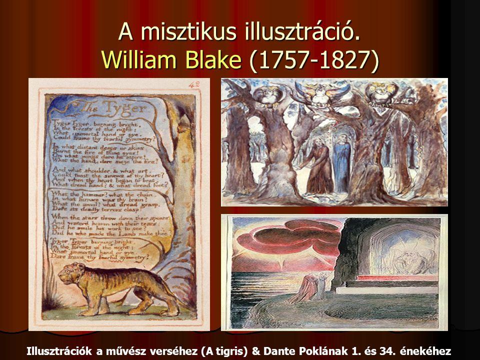 A misztikus illusztráció. William Blake (1757-1827)