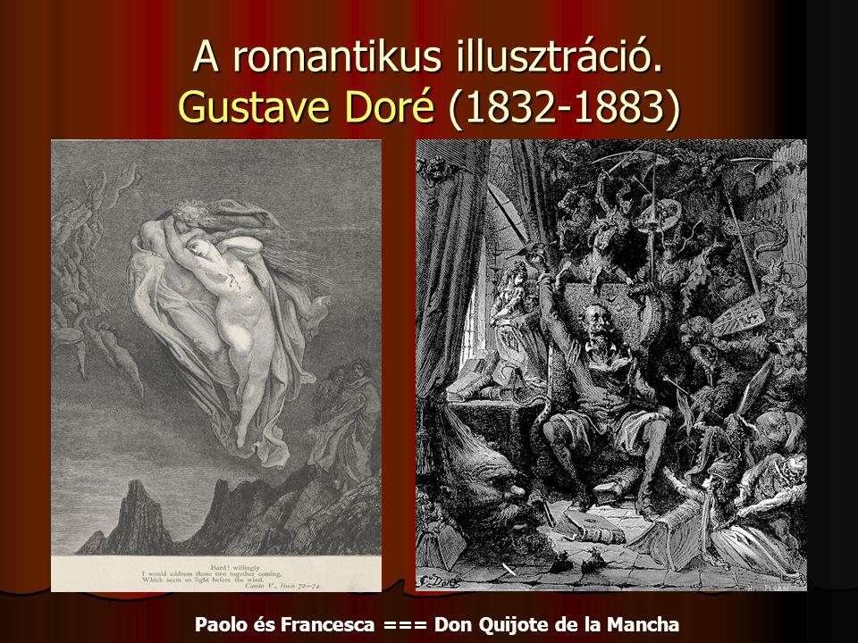 A romantikus illusztráció. Gustave Doré (1832-1883)