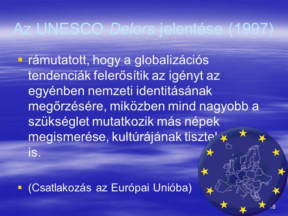 Az UNESCO Delors jelentése (1997)
