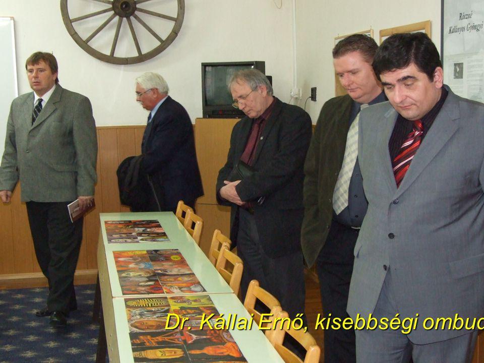 Dr. Kállai Ernő, kisebbségi ombudsman