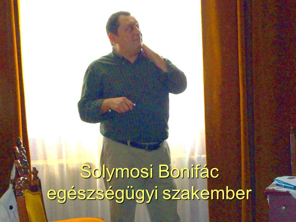 Solymosi Bonifác egészségügyi szakember