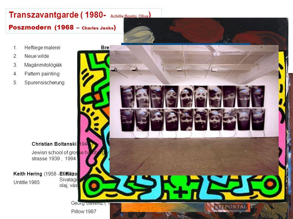 Transzavantgarde ( 1980- Achille Bonito Oliva)