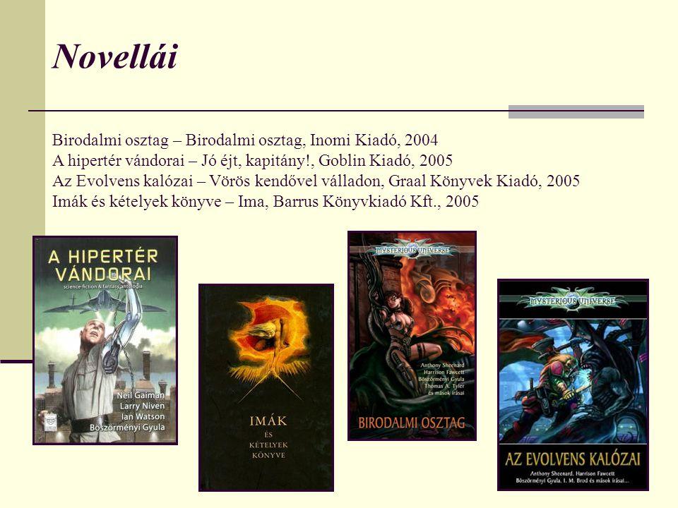 Novellái Birodalmi osztag – Birodalmi osztag, Inomi Kiadó, 2004