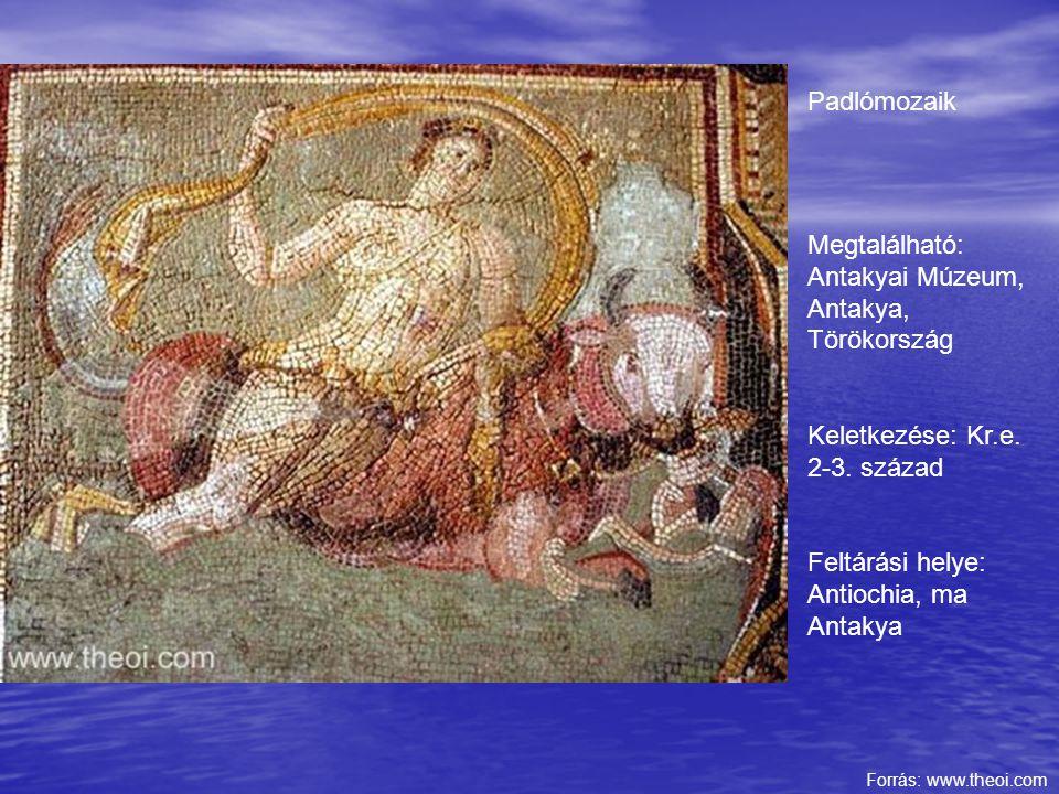 Megtalálható: Antakyai Múzeum, Antakya, Törökország