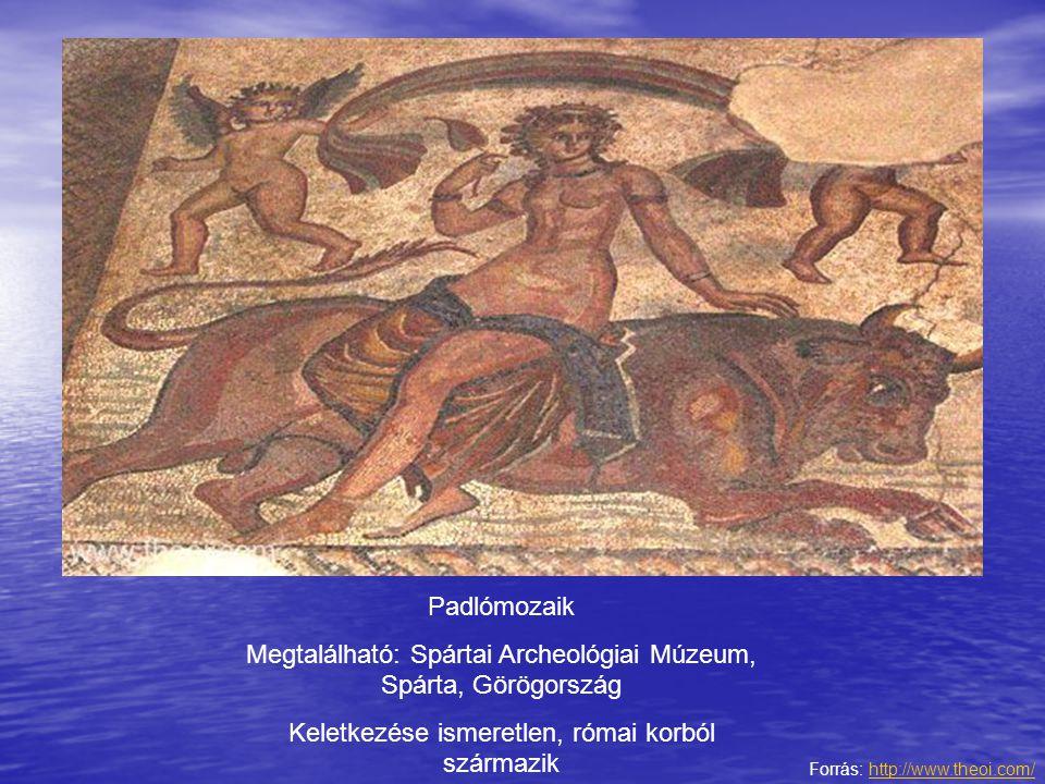Megtalálható: Spártai Archeológiai Múzeum, Spárta, Görögország