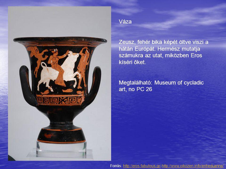 Megtalálható: Museum of cycladic art, no PC 26