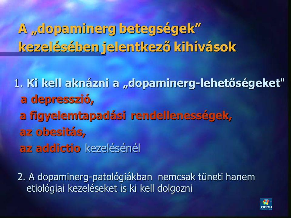 """A """"dopaminerg betegségek kezelésében jelentkező kihívások"""