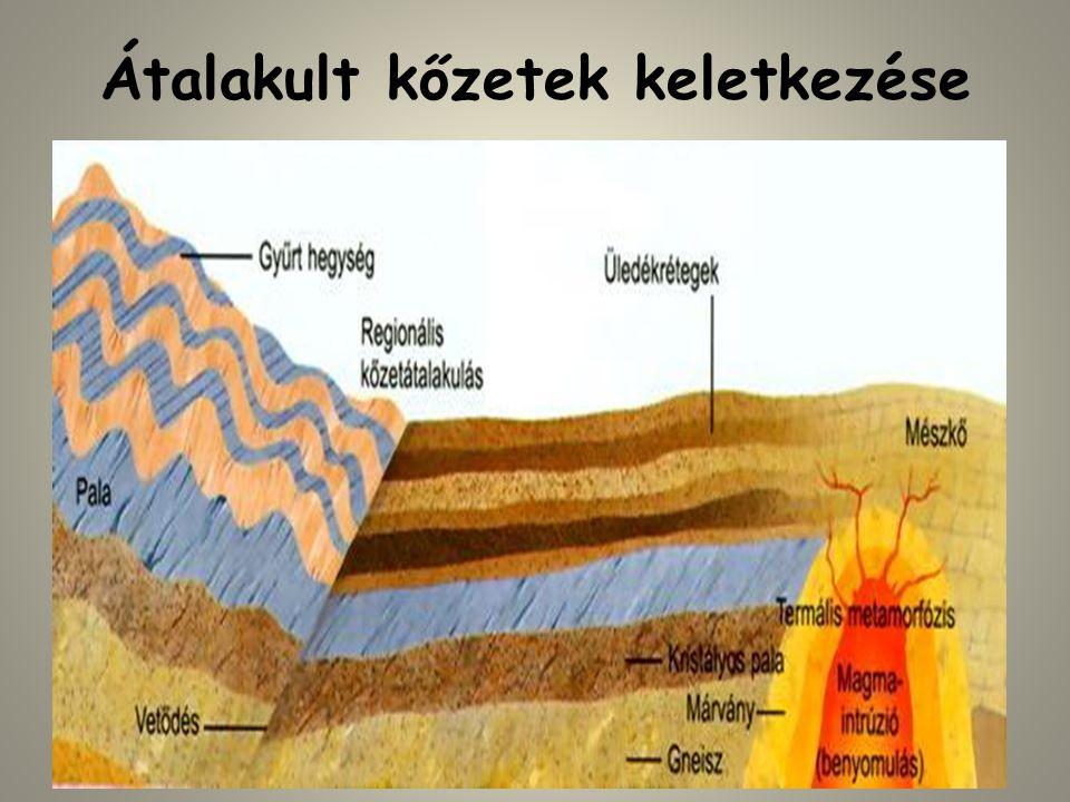 Átalakult kőzetek keletkezése
