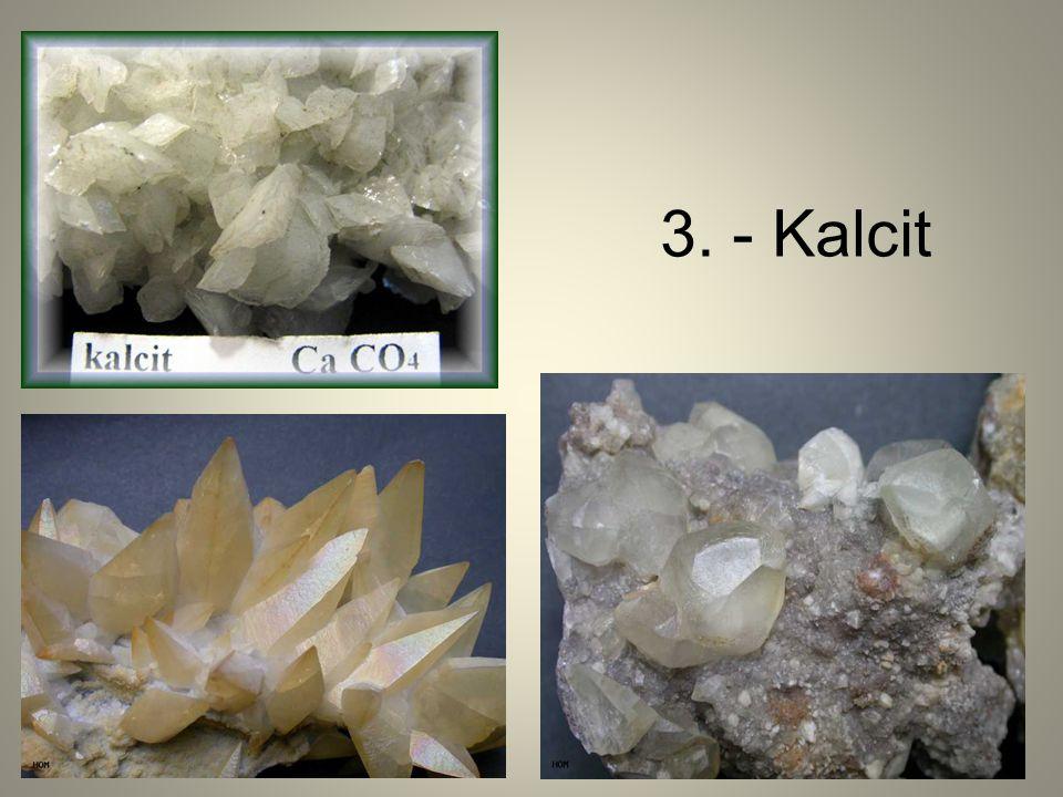 3. - Kalcit
