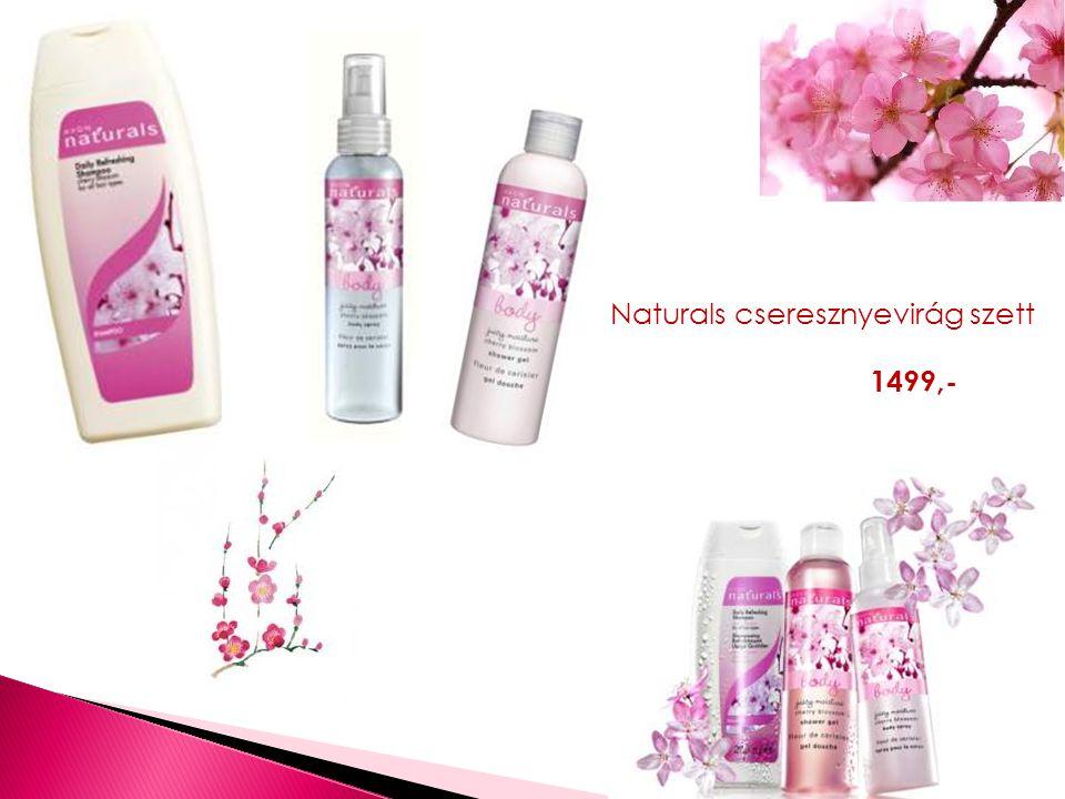 Naturals cseresznyevirág szett