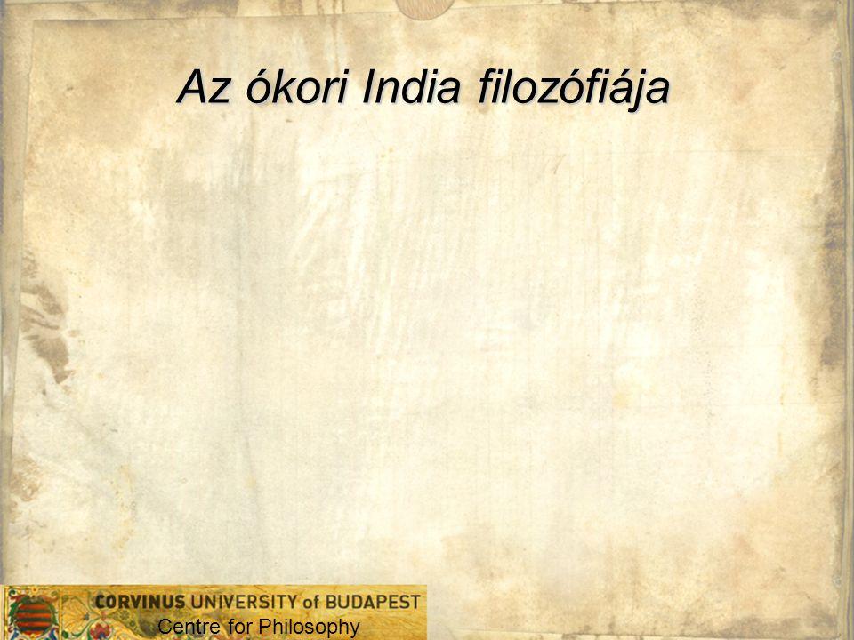 Az ókori India filozófiája