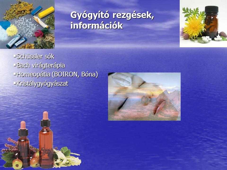 Gyógyító rezgések, információk