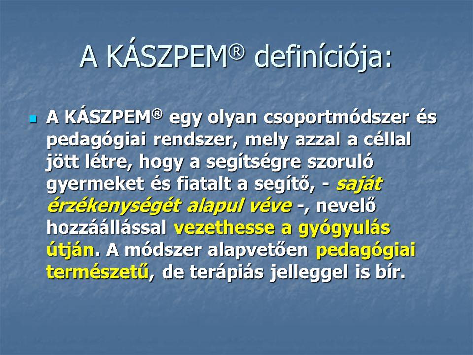 A KÁSZPEM® definíciója: