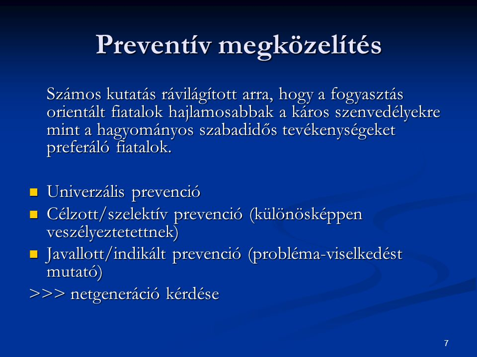 Preventív megközelítés