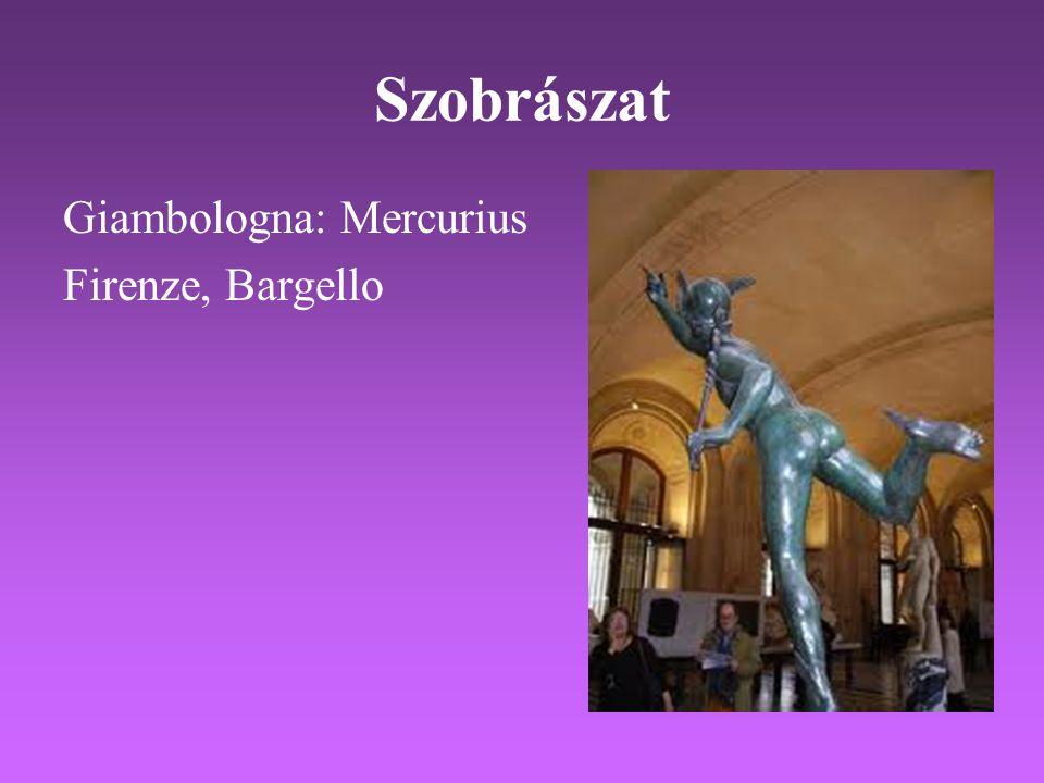 Szobrászat Giambologna: Mercurius Firenze, Bargello