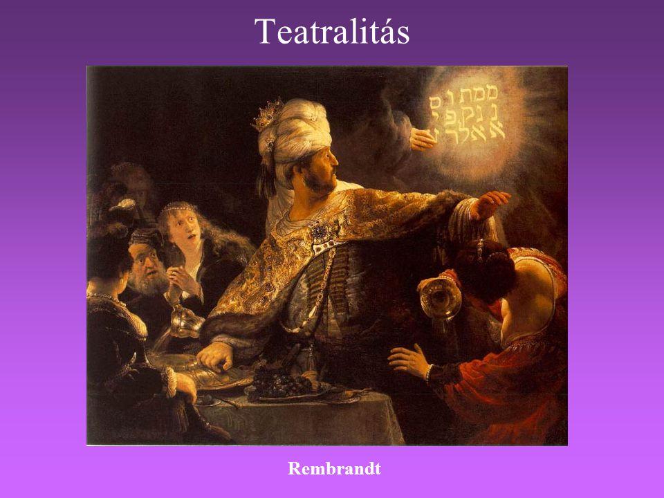 Teatralitás Rembrandt