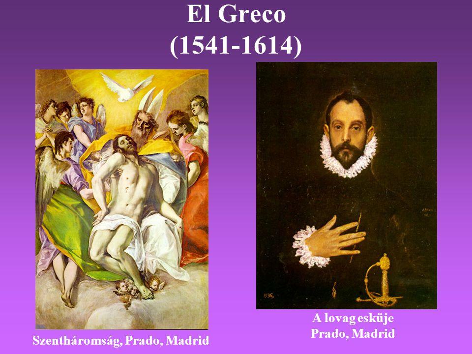El Greco (1541-1614) A lovag esküje Prado, Madrid