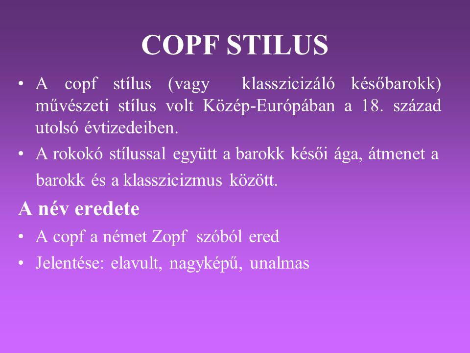 COPF STILUS A név eredete