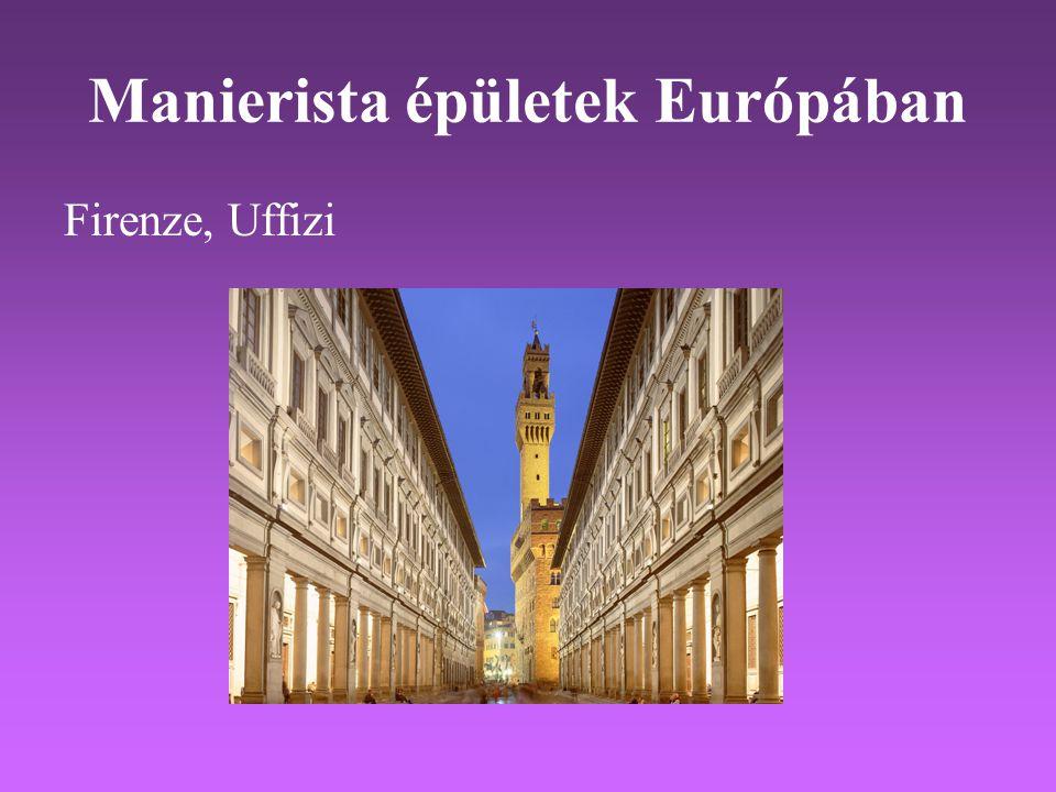 Manierista épületek Európában