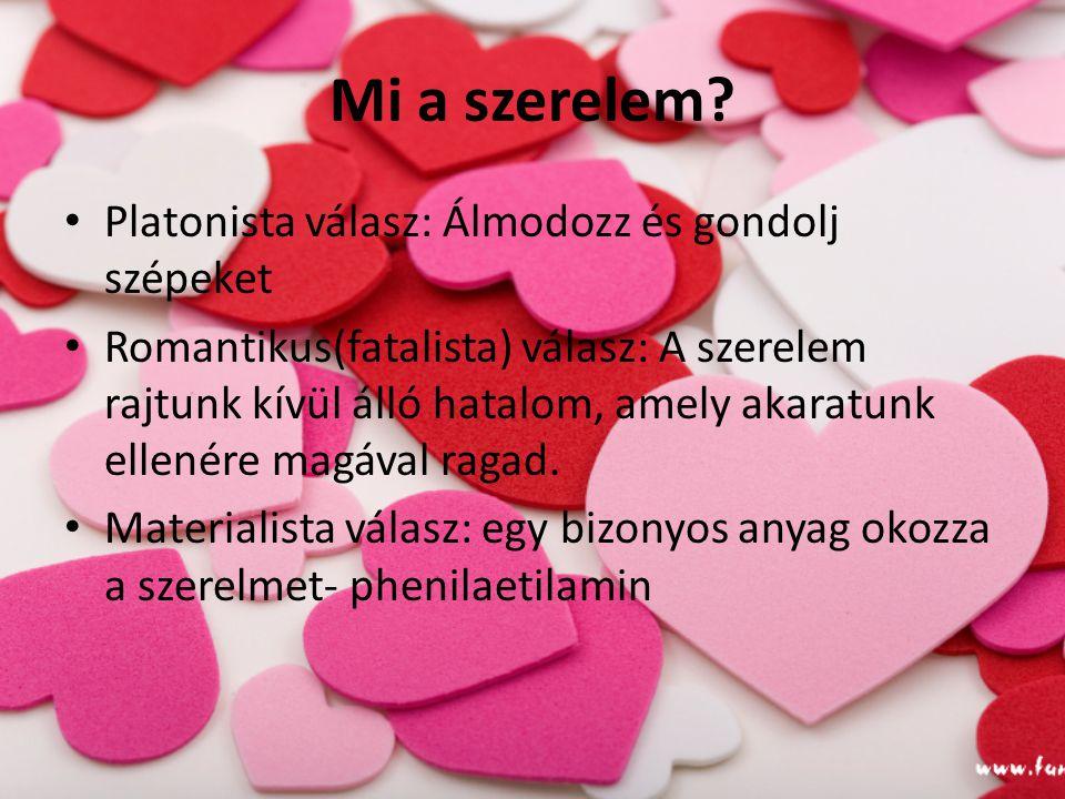 Mi a szerelem Platonista válasz: Álmodozz és gondolj szépeket